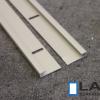alumiini kiinnityskiskot, j-lista