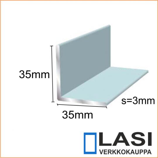 Alumiinikulma 35x35mm